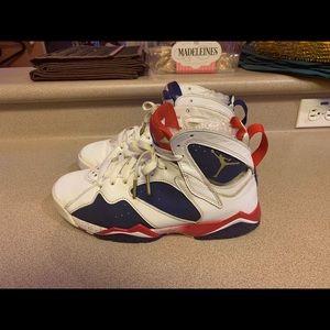Nike Air Jordan 7 VII Retro Olympic Men's 8